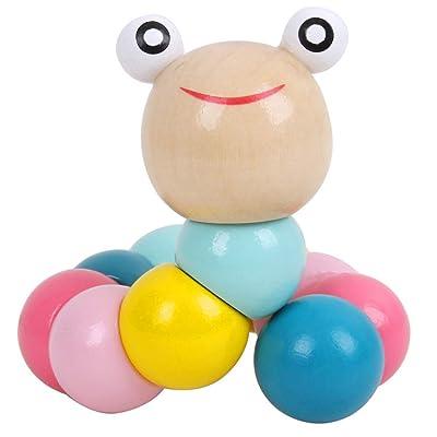 Puzzle Piece,Elevin(TM)???????? Early Education Toys Children Intellectual Development Puzzle Wooden Blocks (B): Toys & Games