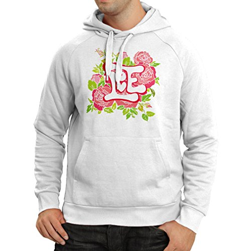 "Hoodie ""Love me"" Valentine day gifts idea (XX-Large White Multi Color)"
