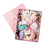 Baby Flower Headbands Floral Crown Wreath Hair Accessories Hair Bow Elastic Bands for Girls Newborn Infant Toddler