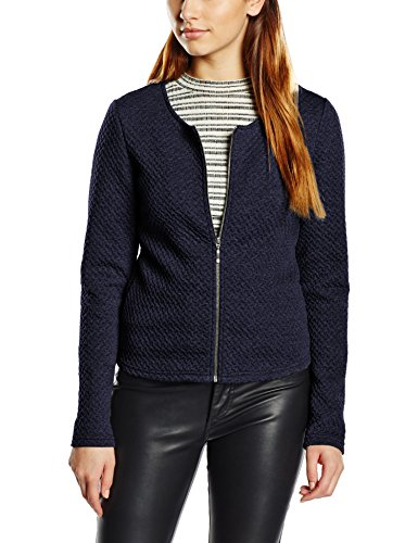 Para New Traje total Jacket Chaqueta Vinaja noos Vila Mujer Eclipse Short Azul De 5P8FTg