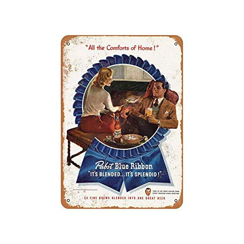 Coffee Houes or Home Metal Tin Sign Pabst Beer and for sale  Delivered anywhere in Canada