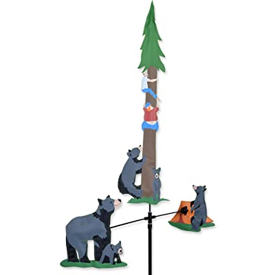 Premier Kites Single Carousel Wind Spinner - Bears & Campers: Sports & Outdoors