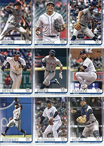 - 2019 Topps Complete (Series 1 & 2) Baseball Detroit Tigers Team Set of 22 Cards: Matthew Boyd(#93), James McCann(#155), Michael Fulmer(#173), Nicholas Castellanos(#209), Jeimer Candelario(#211), Joe Jimenez(#217), Shane Greene(#229), Miguel Cabrera(#230), Jordan Zimmermann(#249), Niko Goodrum(#251), Daniel Norris(#382), Matt Moore(#449), Mikie Mahtook(#477), Comerica Park(#491), JaCoby Jones(#493), Buck Farmer(#496), Victor Reyes(#560), plus more