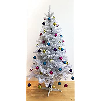 homegear 6ft deluxe 700 tip artificial white xmas christmas tree - Amazon White Christmas Tree