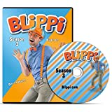 Blippi - Season 3 DVD - Educational Videos for Children