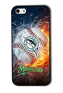 Diy Phone Custom Forever MLB Florida Marlins Team Diy For Touch 5 Case Cover