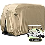 WATERPROOF SUPERIOR GOLF CART COVER COVERS CLUB CAR, EZGO, YAMAHA, FITS MOST FOUR-PERSON GOLF CARTS
