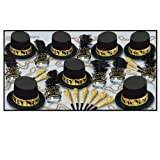 The Gold Top Hat Asst for 50 Party Accessory (1 count)