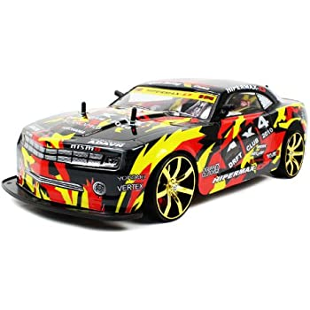 Amazon.com: Camaro SS Electric RC Drift Car 1:10 Graffiti ...