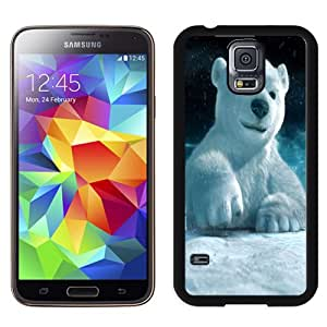 Fashionable Custom Designed Cover Case Samsung Galaxy S5 I9600 G900a G900v G900p G900t G900w With 3D Polar Bear Phone Case Cover
