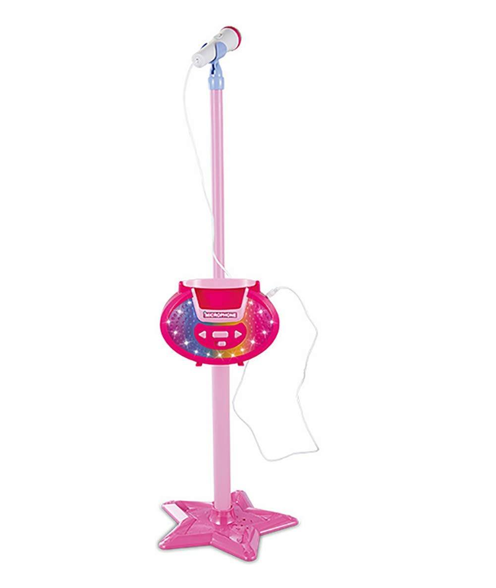 GHDE& Portable Microphone Musical Toys Kids Karaoke Machine with MP3 Sing Stand Best Gift for Your Kids on Birthday,B by GHDE& (Image #1)