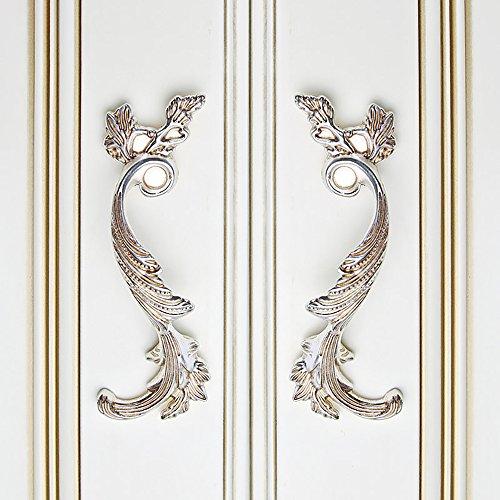Zhi Jin 4Pcs Luxury Cabinet Handles Elegant Cupboard Book Drawer Handle Room Decoration 128mm by Zhi Jin (Image #3)