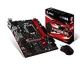 MSI B250M GAMING PRO Motherboard Core i3-i5-i7 B250 S1151 DDR4 SATA PCI Express USB mATX Retail