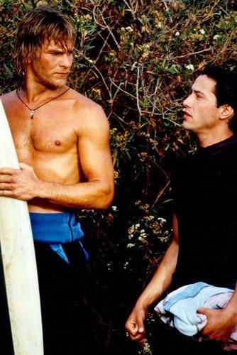 Patrick Swayze Keanu Reeves Point Break Poster