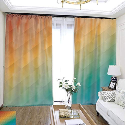 Gauze Curtain Colorful Background and Wallpapers W108 x L85 Lemon Linen Loop top Curtain Highprecision Curtains for bedrooms Living Rooms Kitchens etc.