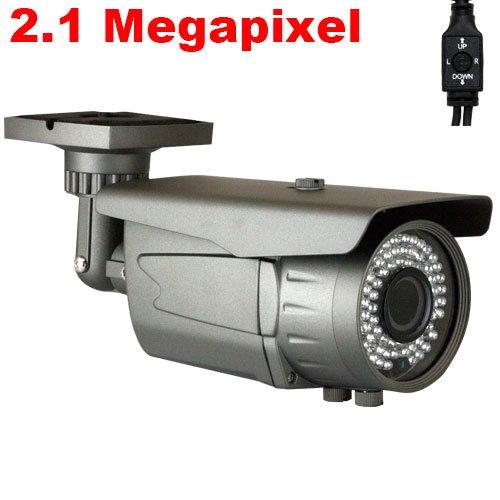 Best GW High End CCTV Surveillance HD-SDI Security Camera, 2.1 Megapixel, 1080P Video Output Mode, Vari Focal Zoom Lens, 72 PCs IR LEDs