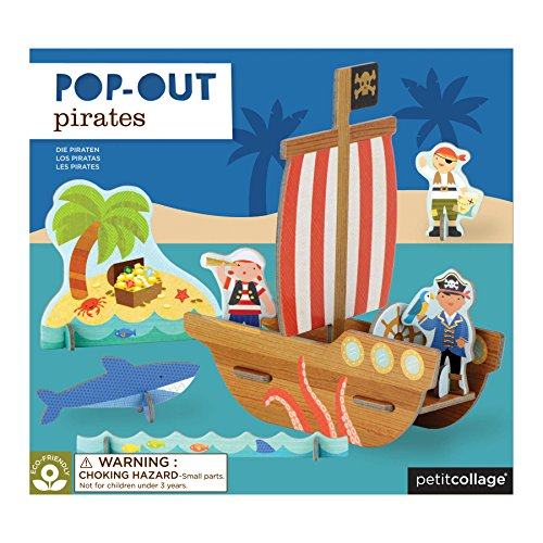 (Petit Collage Pop-Out, Pirate)