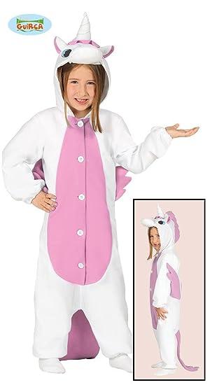Guirca 87639 - Pijama Unicornio Infantil Talla 5-6 Años