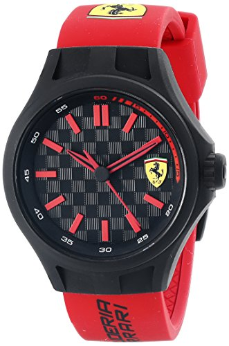 ferrari-mens-0840003-pit-crew-watch-with-red-band