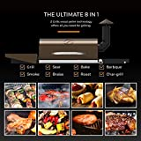New Model Wood Pellet Grill & Smoker