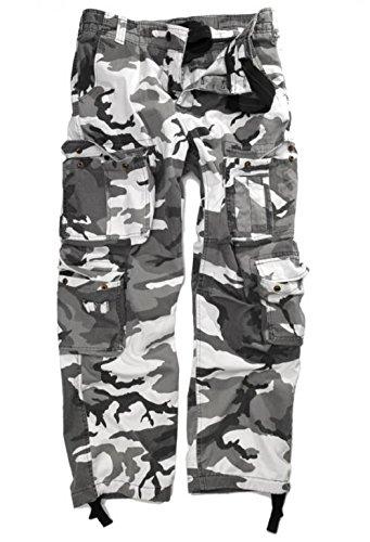us pierre lavé style d'extérieur 8 vintage Xs Pantalon poches de confortable métro xxxl pratiques avec qxXwHCBnI