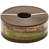 "Master Mark Terrace Board Landscape Edging 4"" X 40 ' Brown"