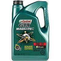 Castrol 03060 GTX Magnatec 0W-20 Motor Oil (5 Quart)