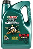 Automotive : Castrol 03060 GTX MAGNATEC 0W-20 Full Synthetic Motor Oil, 5 Quart