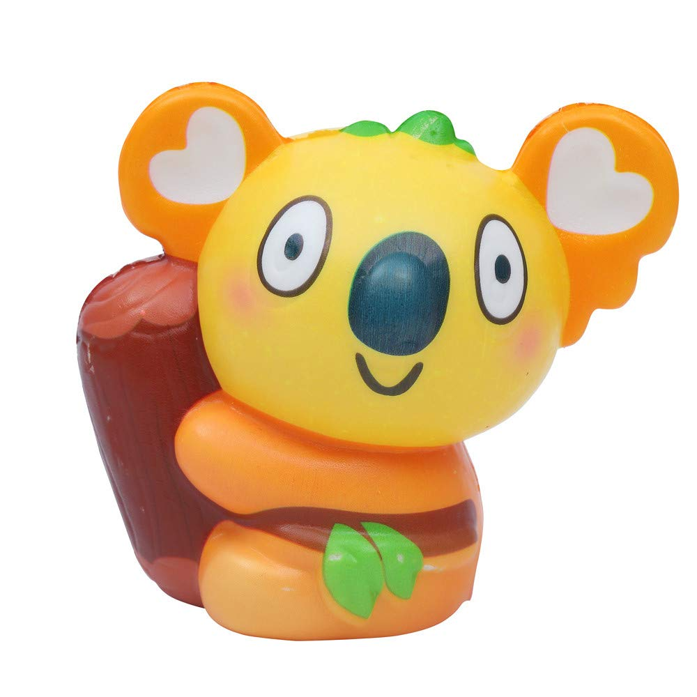 callm Jumbo Squishy Squeeze Toys Cute Koala Slow Rising Soft Scented Charms Squishy Stress Reliever Anxiety Relief Squishies Toys for Kids and Adults