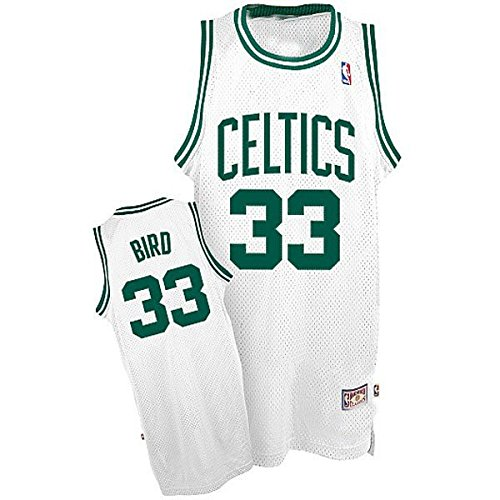 adidas Boston Celtics Bird Swingman Basketballtrikot Herren S - 46