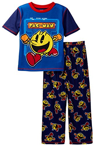 pacman-big-boys-2pc-sleepwear-set-blue-small-6-7