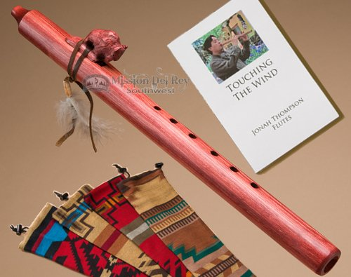 Jonah Thompson Flute -Cherry Buffalo Pack by Jonah Thompson Flutes