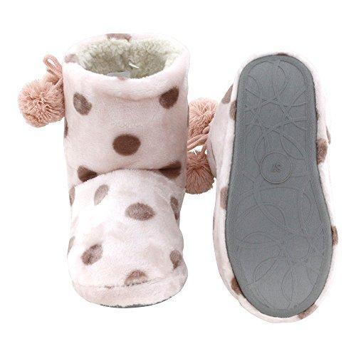 mujer casa de Zapatillas estar Rosa Sintético brandsseller por Material de para 4IqzwBx