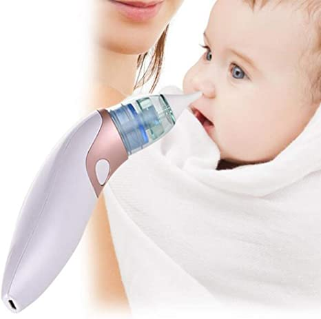 JFW-USB Bebé eléctrico Dispositivo de succión Nasal Bebé congestión Nasal Recargable portátil Aspirador Nasal Equipado con Filtro de algodón: Amazon.es: Deportes y aire libre
