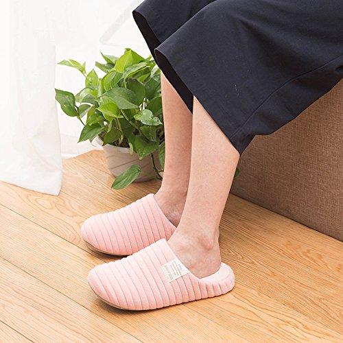 Fondo Zhirong Cotone Rosa Uomo Da In E Donna Spessa Colore Home Verde Pantofole Dimensioni 37 38 Invernale wBwrxqzC4