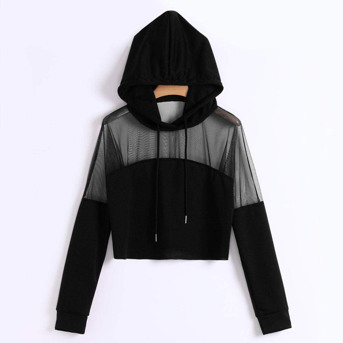 7c94784385 JPOQW-autumn Women s Hooded Sweater Long Sleeve Fashion Solid Color V Neck  Blouse Splice Shirt Pullover Sweatshirt at Amazon Women s Clothing store