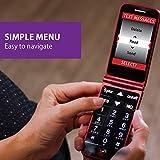Jitterbug Flip Easy-to-use Cell Phone for Seniors