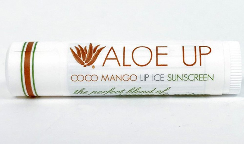 Aloe Up SPF15 Lip Balm Coco Mango Flavor 3 Pack by ALOE UP