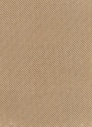Solid Canvas Waterproof / UV Protected Outdoor Fabric Pro Tuff Colors Sold By The 5 Yard Bolt (Toast)