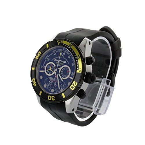 Bultaco H1Al48C-Ib1 - Reloj Acero Collectors Correa Silicona Negro: Amazon.es: Relojes