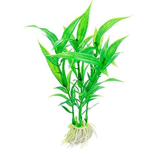 Amazon.com : eDealMax 5-Piece plantas de plástico peces de acuario tanque artificiales, Verde : Pet Supplies