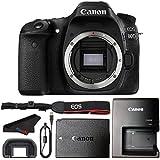 Canon EOS 80D DSLR Camera Body + Microfiber Cloth (International Version)