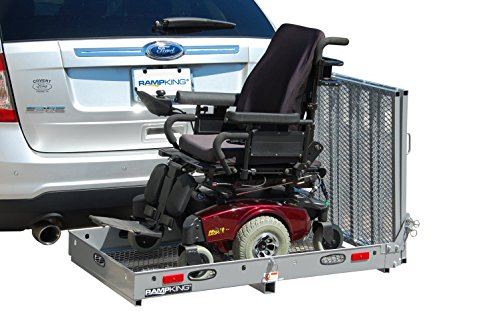 RAMP KING Silver Elite Series Wheelchair Mobility Scooter Carrier