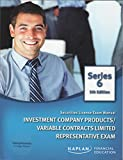 Securities License Exam Manual, Investment Company Products/Variable Contracts Limited Representative Exam (Series 6, 5th edition) (Series 6) offers