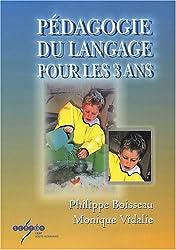 Pédagogie du langage pour les 3 ans