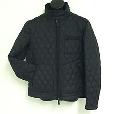 Coach Mens Bowery Quilted Racer Jacket Coat 83741 Black S M L Xl