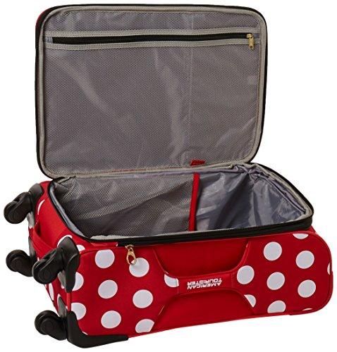 American Tourister Disney Minnie Mouse Polka Dot Softside Spinner 21, Multi