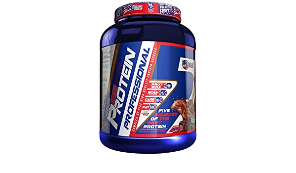 Muscle Force High Protein 5 Sabor Fresa y Nata - 2000 gr ...