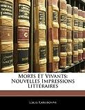 Morts et Vivants, Louis Ratisbonne, 1144667089