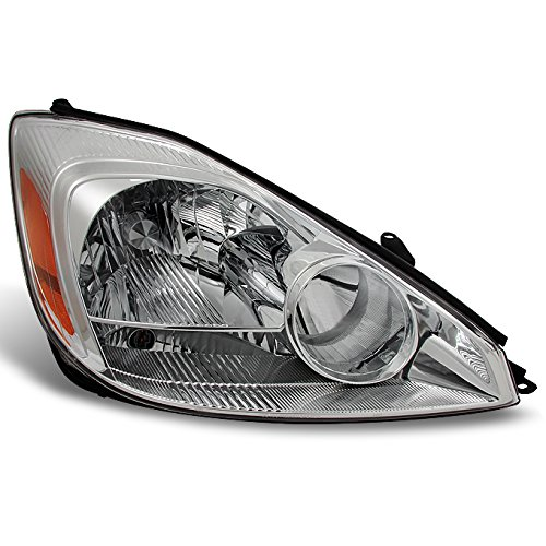(For 2004 2005 Toyota Sienna Passenger Right Side Halogen Type Headlight Headlamp Replacement Assembly)